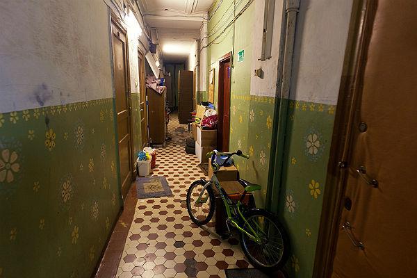 Жители Петербурга не хотят выезжать из коммуналок