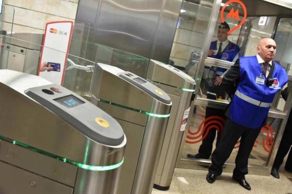 В Москве проходят тесты оплаты проезда в метро по лицу