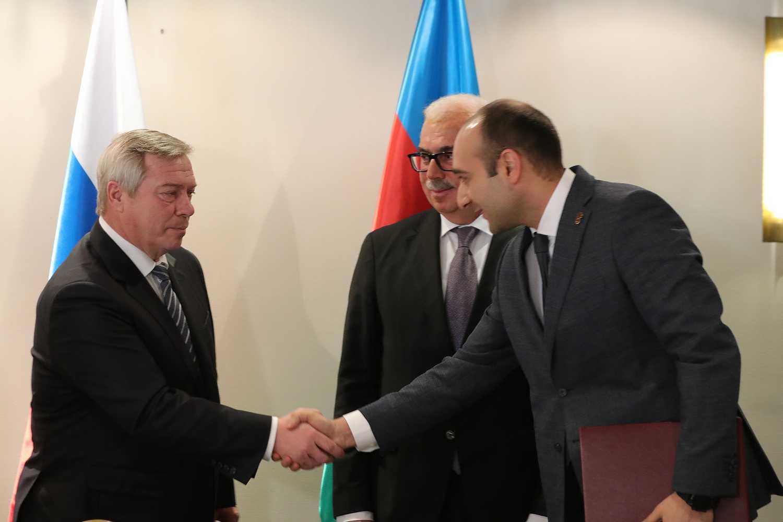 В Азербайджане в рамках Дней Ростовской области прошел бизнес-форум