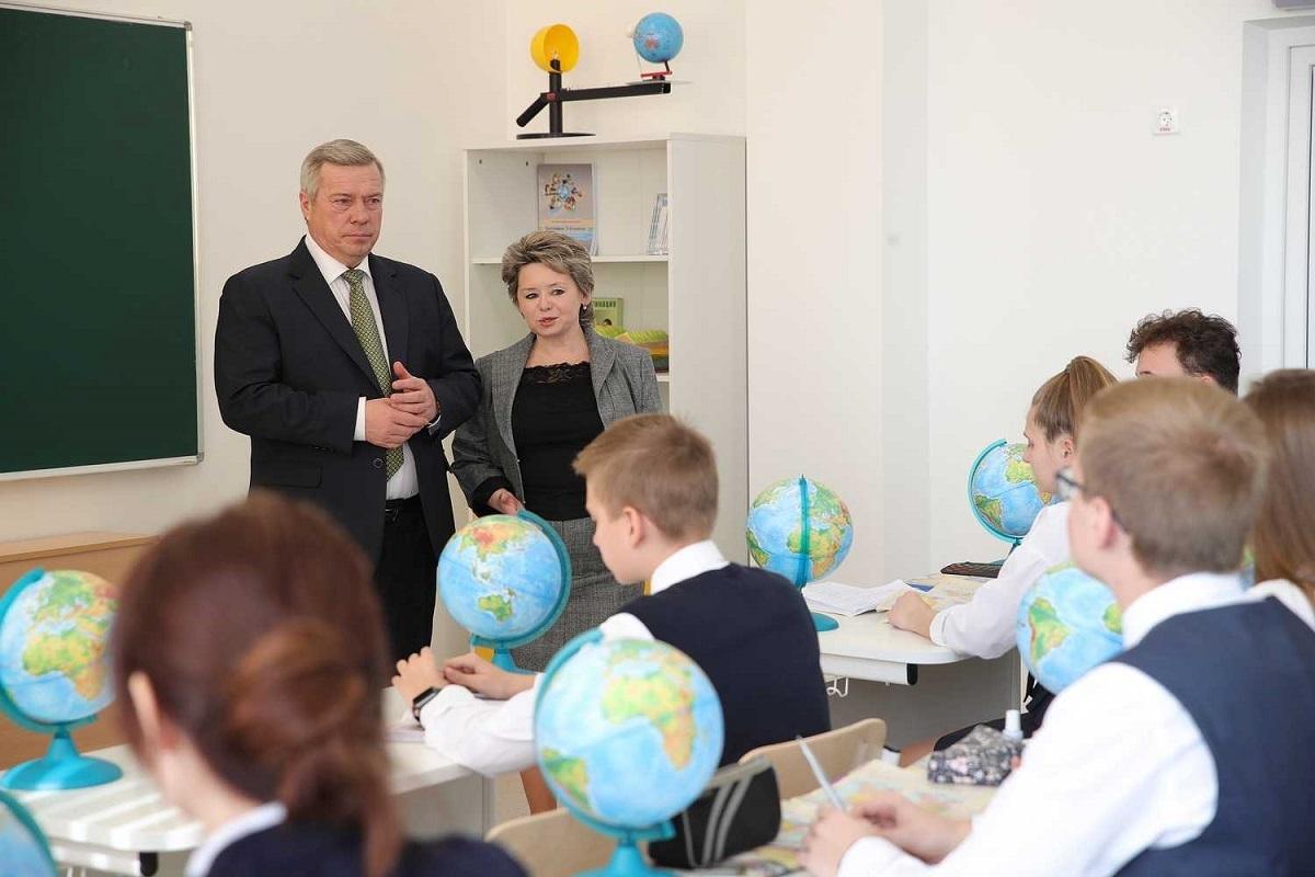 В столице Донского региона открылся современный лицей