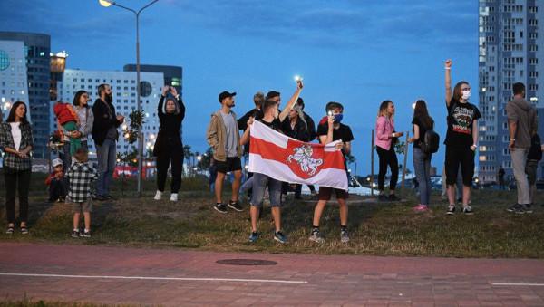 В Минске за участие в протестах задержали более 500 человек