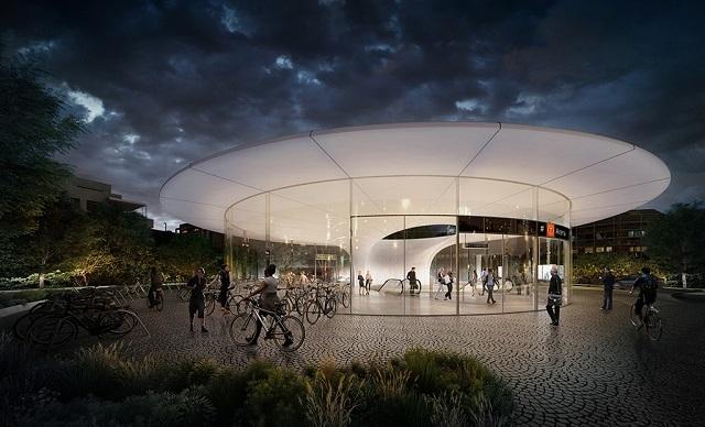 Как выглядит проект метро в Осло от Zaha Hadid Architects