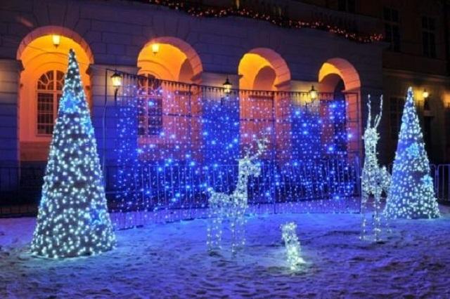 25 московских парков приготовили новогодние программы