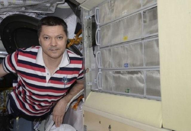 Космонавт Олег Кононенко установил на борту МКС
