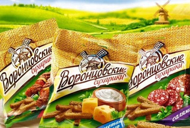 Производитель сухариков