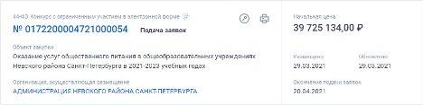 На рынке соцпитания Петербурга сохраняется ситуация с дроблением госконтрактов. 9639.jpeg