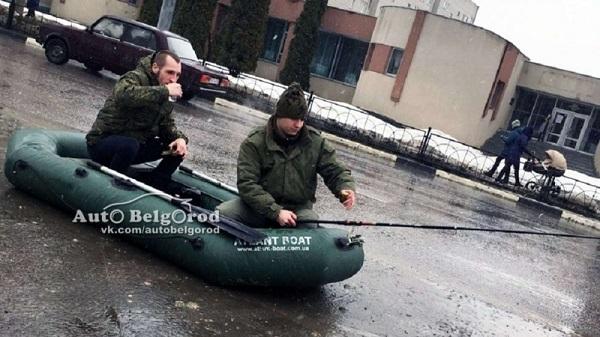 В Белгороде рыбаки