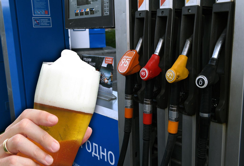 На автозаправках вновь смогут торговать пивом