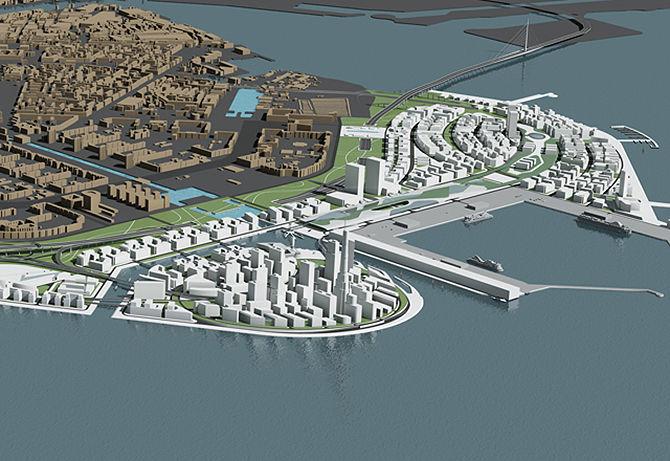 Современную концепцию развития намывных территорий представят на форуме в Петербурге