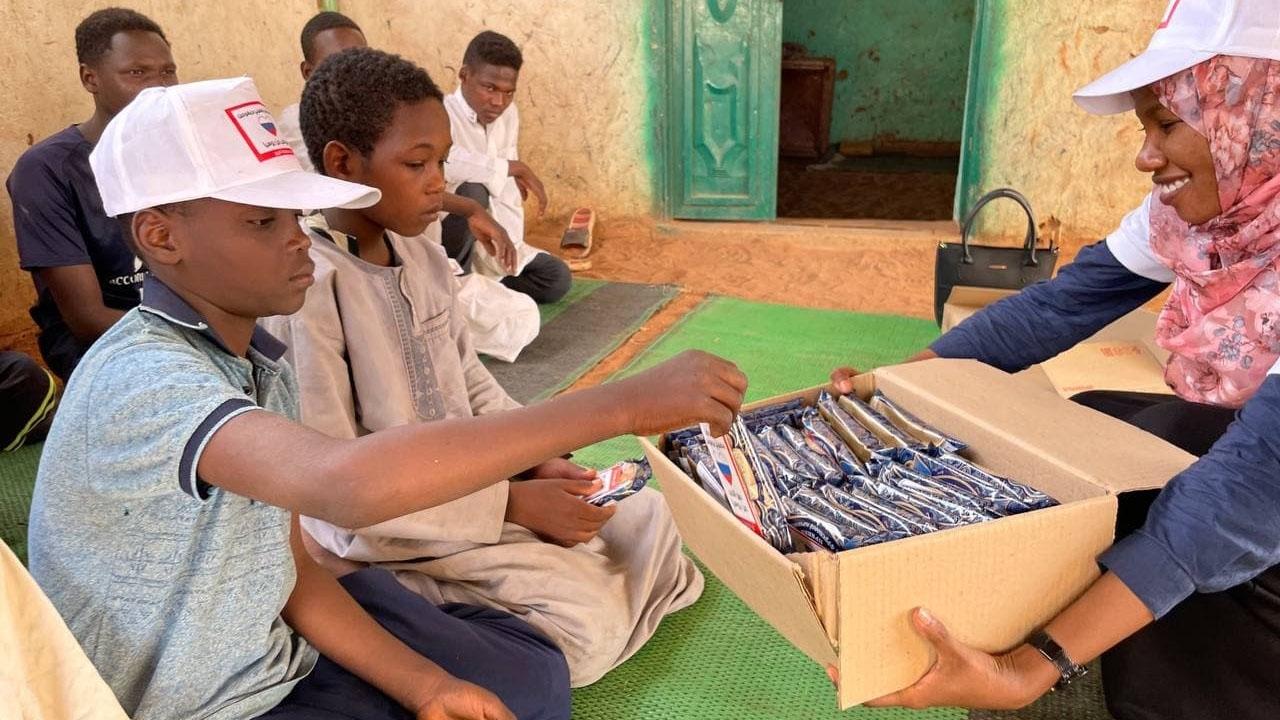 Тульские пряники из России порадуют суданских детей