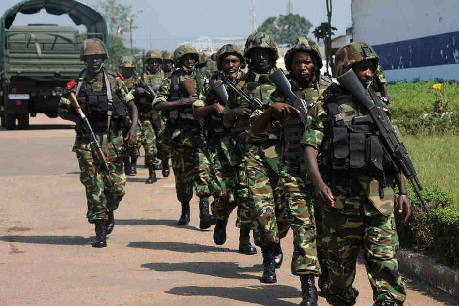 Центральноафриканские силовики провели рейд в окрестностях Банги