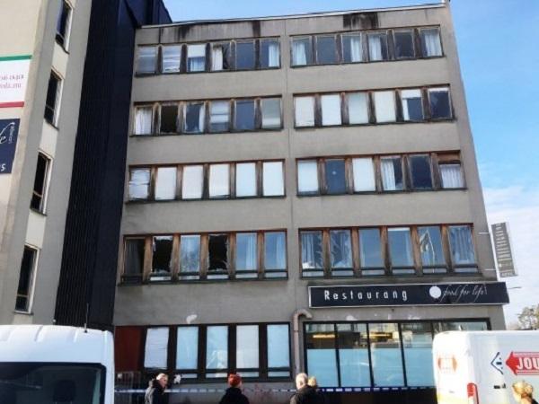Несколько человек пострадали в результате взрыва в Стокгольме