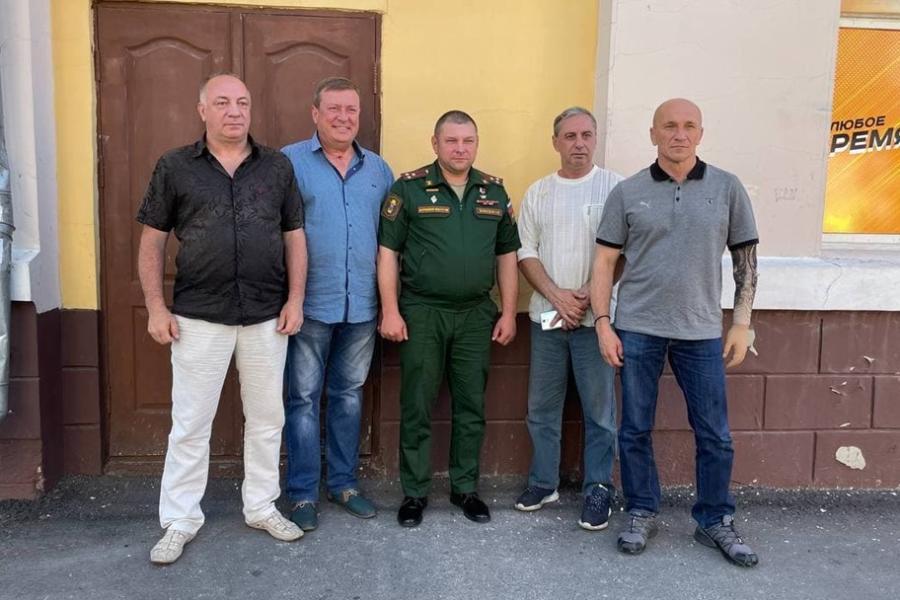 Герой России Андрей Богатов провёл встречу с ветеранами Забайкалья