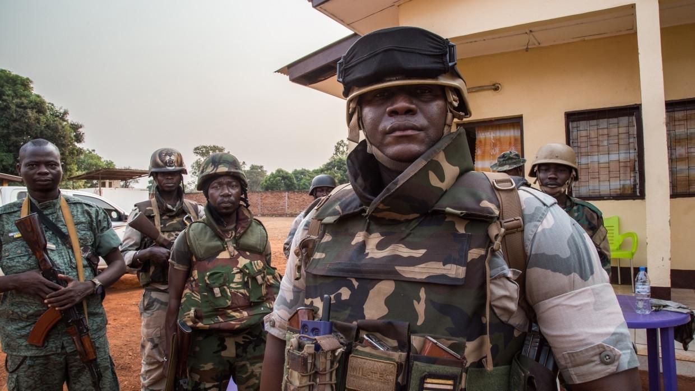 Военнослужащие ЦАР перехватили боевика недалеко от золотых приисков