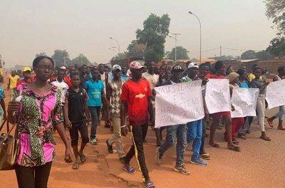 В Центральноафриканской Республике прошел марш в поддержку FACA