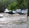 Из-за ливней в столице Дагестана произошло наводнение