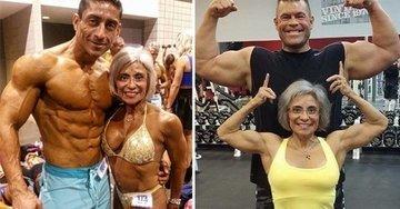 70-летняя женщина с артритом - чемпион по бодибилдингу