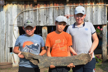 В башкирском нацпарке школьники обнаружили кость мамонта