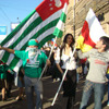 Южная Осетия и Абхазия продолжают праздновать независимость