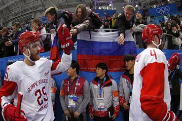 С золотом, но без флага и гимна: смогут ли повторить хоккеисты России свой триумф в Альбервиле