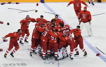 Впервые за 26 лет: наши хоккеисты в Пхенчхане взяли олимпийское золото
