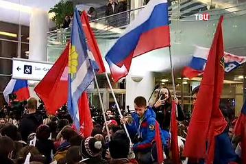 Встреча российских олимпийцев в Москве шокировала западные СМИ