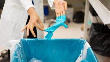 В Сочи установят контейнеры для утилизации одноразовых масок и перчаток