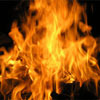 В Москве горело здание Сбербанка